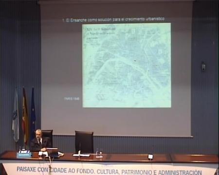 Antonio Garrido Moreno, departamento de Historia da Arte da Universidade de Santiago de Compostela
